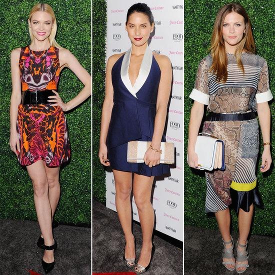 Jaime King, Olivia Munn, and Brooklyn Decker Celebrate Vanity Fair