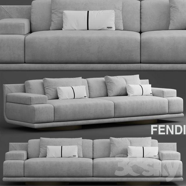 Astounding Sofa Fendi Casa Artu Sofa In 2019 Living Room Sofa Design Alphanode Cool Chair Designs And Ideas Alphanodeonline