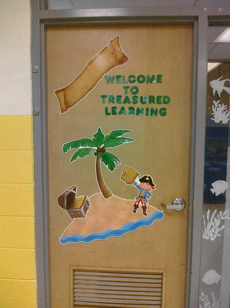 Pirate themed classroom