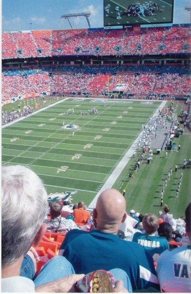 Miami Dolphins Stadium  Miami, Florida