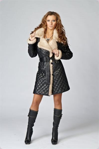 Купить пальто кожаное