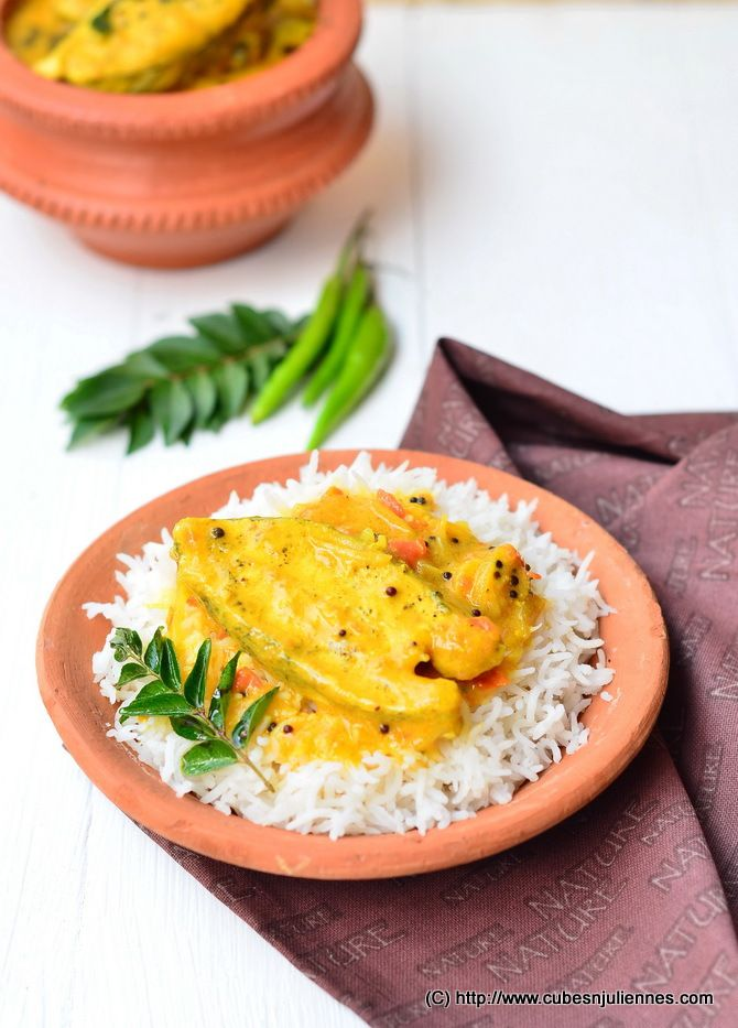 This recipe is a typical Kerala style Fish gravy which is also known as Fish Molee/Moli. The fish curry goes perfectly with steamed rice and now it has becomes my family's favorite amongst the fish gravies I usually prepare. INGREDIENTS:- For marination : 750 gms, fish, sliced (I have used Emperor Fish, you can use …
