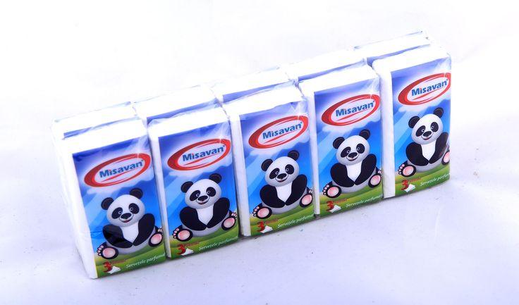 Servetele nazale parfumate www.produse-de-curatenie.ro
