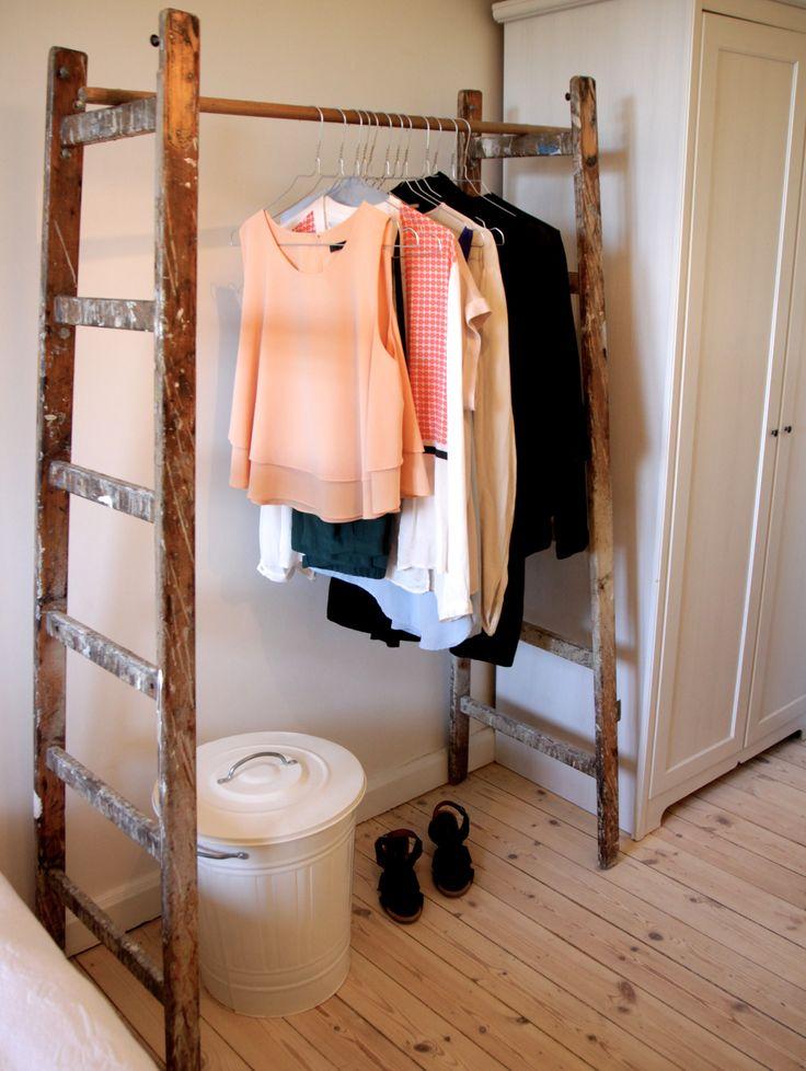 Hjemmelavet tøjstativ