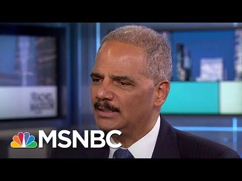TJ'S BLOG: RACHEL MADDOW SHOW: Eric Holder: 'Our Democracy Is...