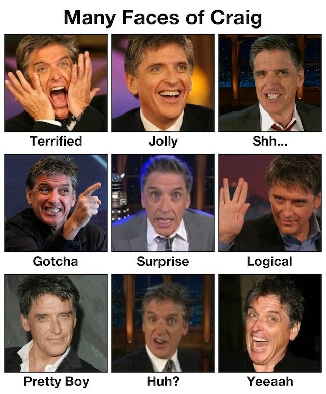 Many Faces of Craig Ferguson