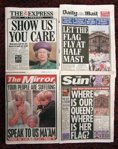 princess+diana+death+photos | Princess Diana's death makes headlines - Princess Diana's Death: A ...
