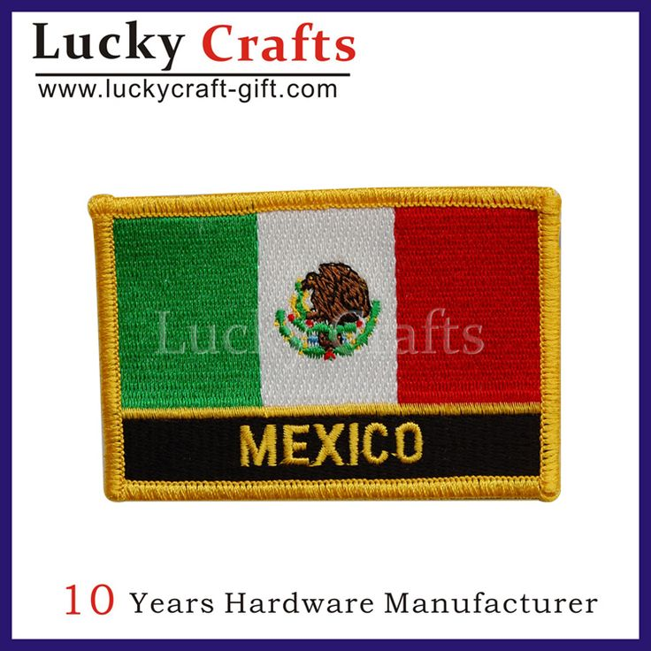 custom embroidered name patches/felt appliques patch
