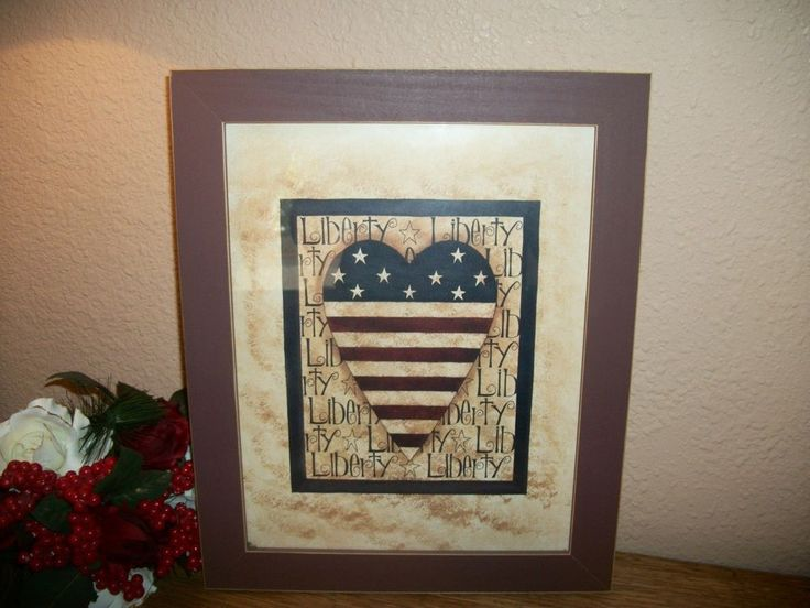"I added ""Americana Heart Flag Red Blue Beige Framed Art "" to an #inlinkz linkup!http://www.ebay.com/itm/Americana-Heart-Flag-Red-Blue-Beige-Framed-Art-Print-Wall-Hanging-Home-Decor-/151775506807"