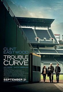 Trouble with the Curve  Just saw this last night and thought it was a very good movie.  Clint Eastwood is just a good actor!