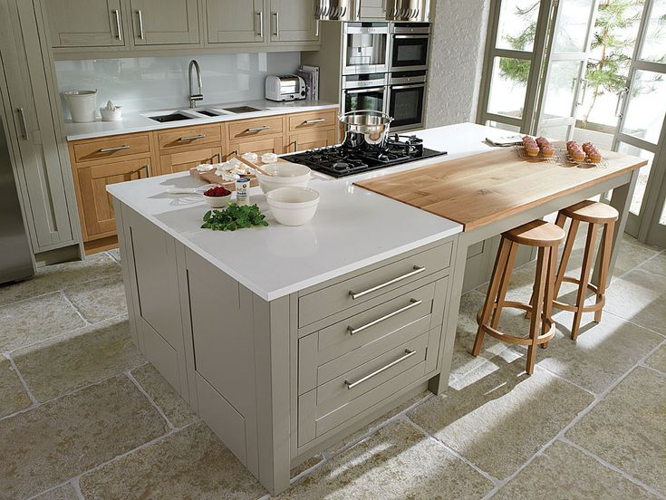 PAINTED KITCHEN RANGE - Woodbank Kitchens - Northern Ireland Based Kitchen Design Company