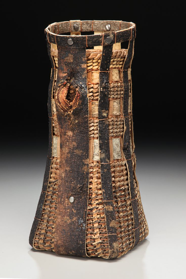 http://www.matttommey.com Bark & Vine Vessel - Mimosa, Copper, Poplar