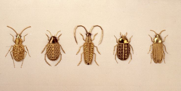 Ourivesaria Modelo Verificador de amostras Besouro. / Goldwork Model samples Checker Beetle.