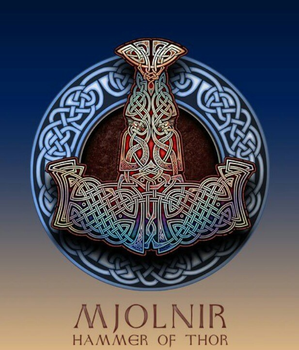 Mjolnir - the hammer of Thor                                                                                                                                                                                 More