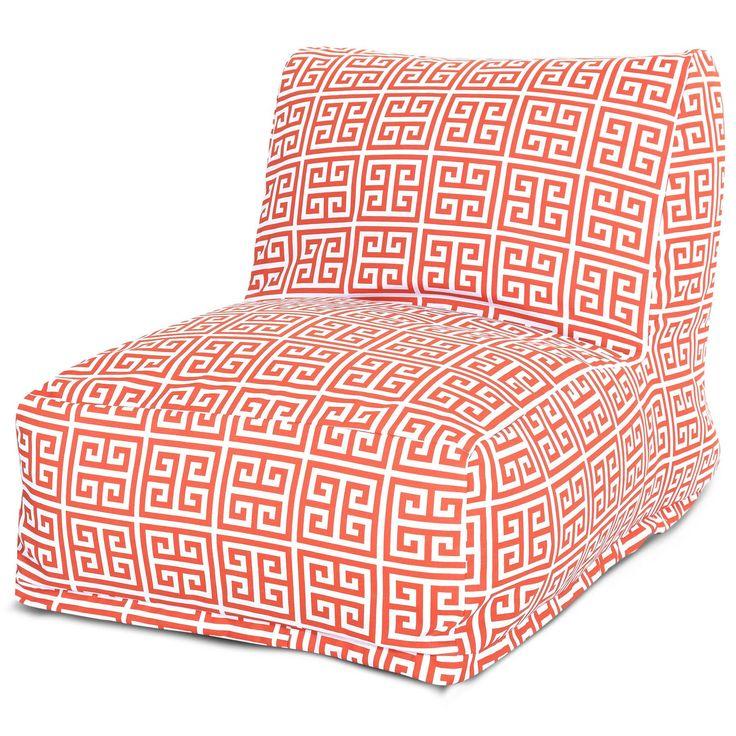 Orange Towers Bean Bag Chair Lounger