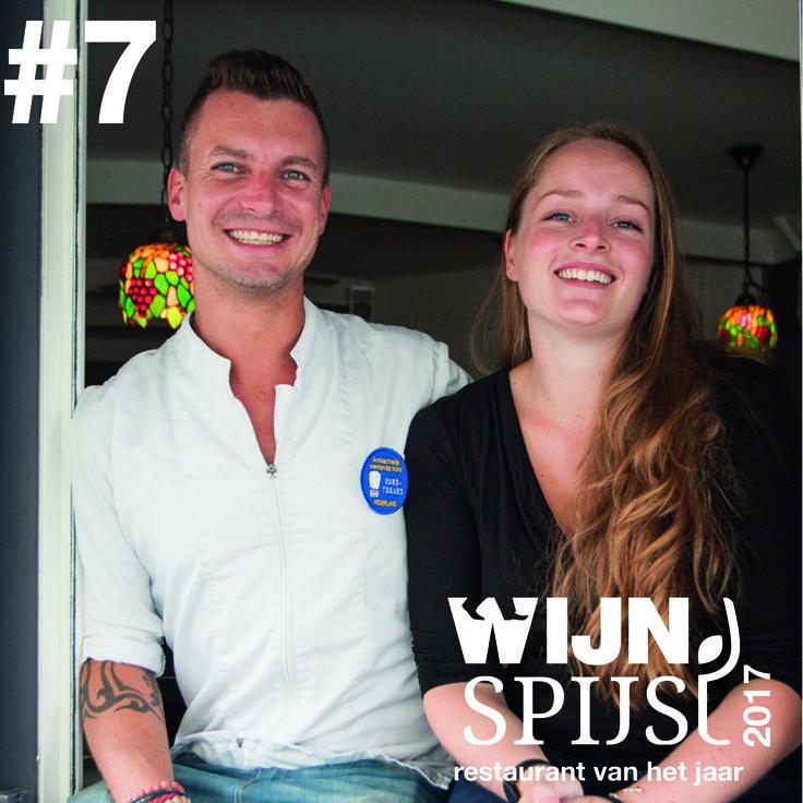 WijnSpijs Restaurant van het jaar 2017 Top 10   no. 7 De Dis   Scheveningen