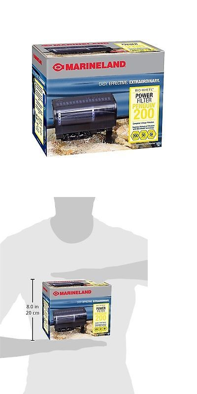Animals Fish And Aquariums: Marineland Penguin Power Filter 30 To 50-Gallon/200 Gph -> BUY IT NOW ONLY: $300 on eBay!