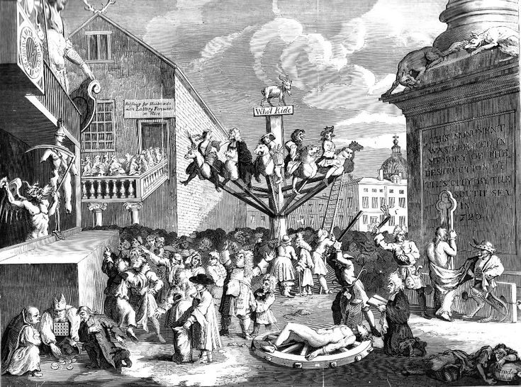 The South Sea Bubble - an Allegory