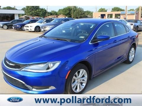 2015 Chrysler 200 Limited Sedan at Pollard Friendly Ford in Lubbock Texas! & 7 best Pre-Owned Chrysler images on Pinterest | Texas Ford and ... markmcfarlin.com
