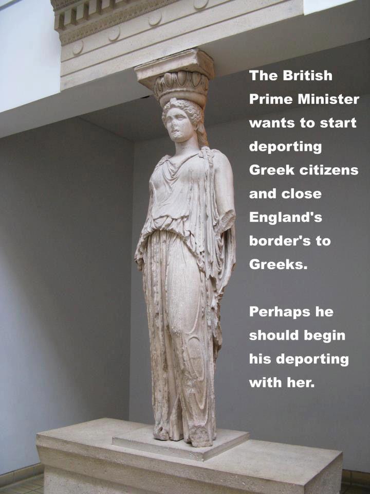 She is Greek