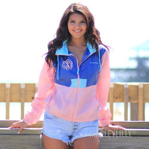 Monogrammed Women's Flashback™ Windbreak Jacket | Marleylilly