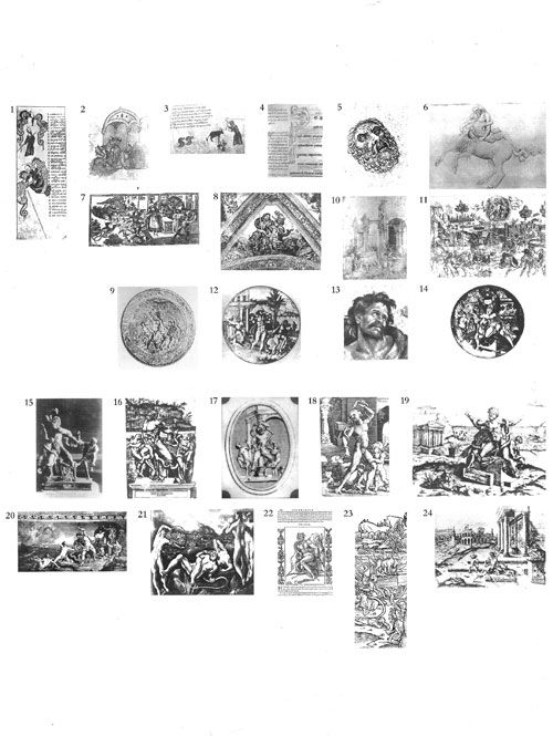 Formule di pathos dionisiaco: annientamento e furia, lutto e meditazione (vittima, carnefice, Madre, Menade, Laocoonte)