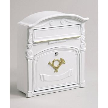 Boîte aux lettres de rénovation DECAYEUX, coloris blanc | Leroy Merlin