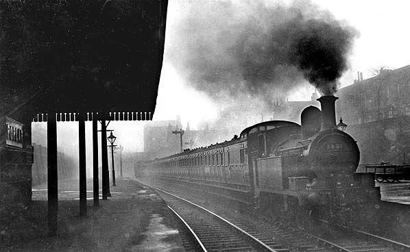 Poplar station in London's east end.
