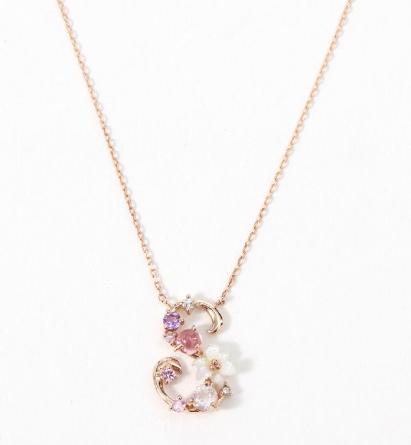 "Samantha Tiara ""S"" necklace - reminds me of Rapunzel"