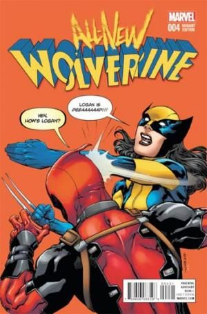 ALL NEW WOLVERINE #4 RANEY DEADPOOL VAR - アメコミ通販 アメコミ専門店 ブリスターコミックス : BLISTER comics