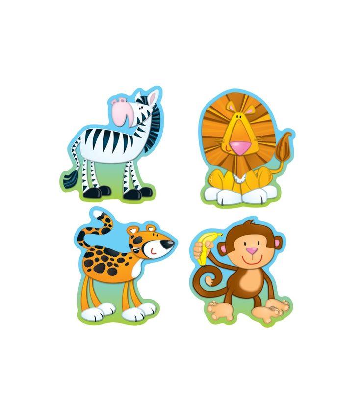 Jungle Animals Cut-Outs - Workbooks & Teacher Supplies | Carson-Dellosa Publishing