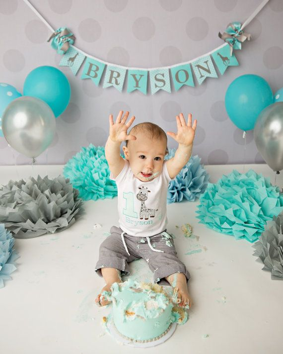 44 Best CAKE SMASH IDEAS For Baby Boy Images On Pinterest