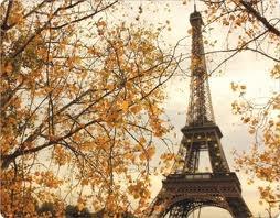autum Eiffeltower