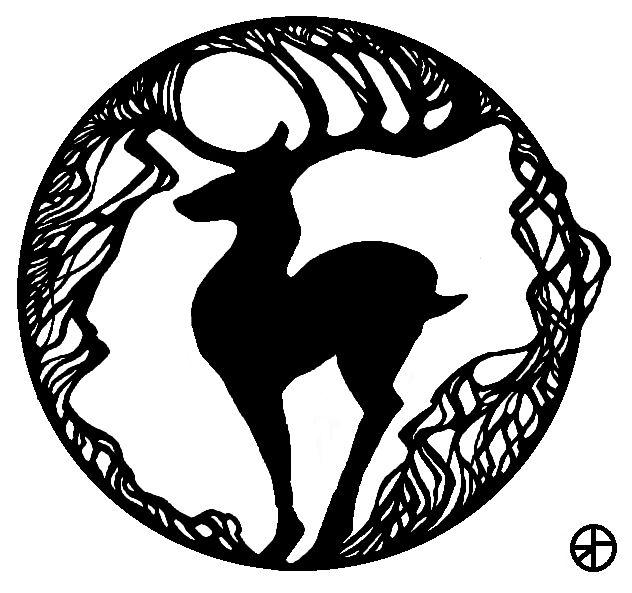 Дерево - олень