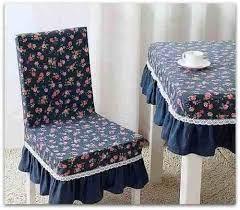 Resultado de imagen para capas para cadeiras artesanal