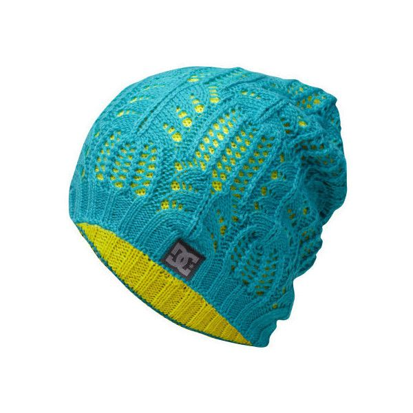 Womens Reversible Zina Beanie - DC Shoes found on Polyvore