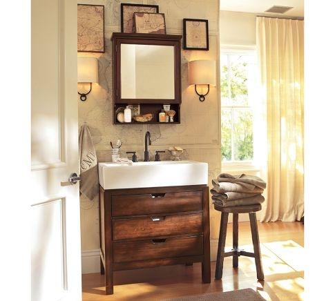 Seville Single Sink Console | Pottery Barn