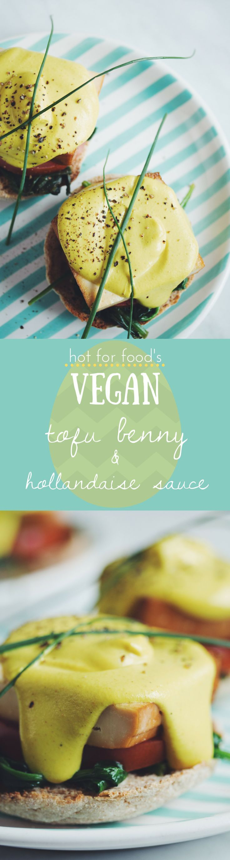 tofu benny & vegan hollandaise | RECIPE on hotforfoodblog.com