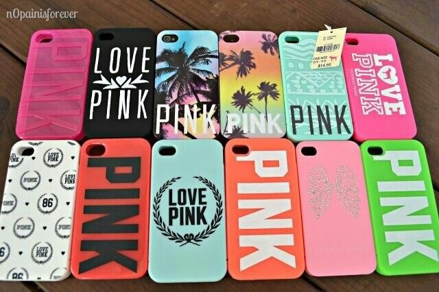 Cute phone case love pink victorias secret. I want all the. Cases
