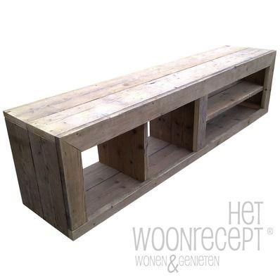 Laag & lang tv meubel