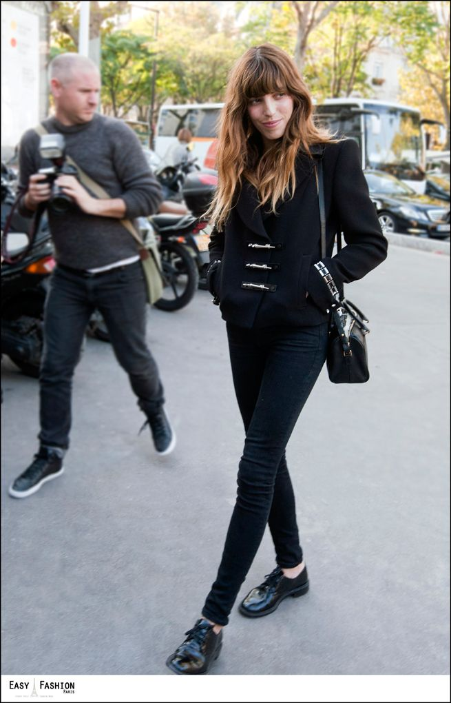Lou Doillon Fashion Week Paris SS14 sept 2013  hebergeur image