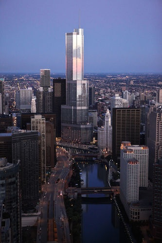Only The Tallest Building In Us Trump International Chicago Hotel Has Most Amazing Views Of City And River