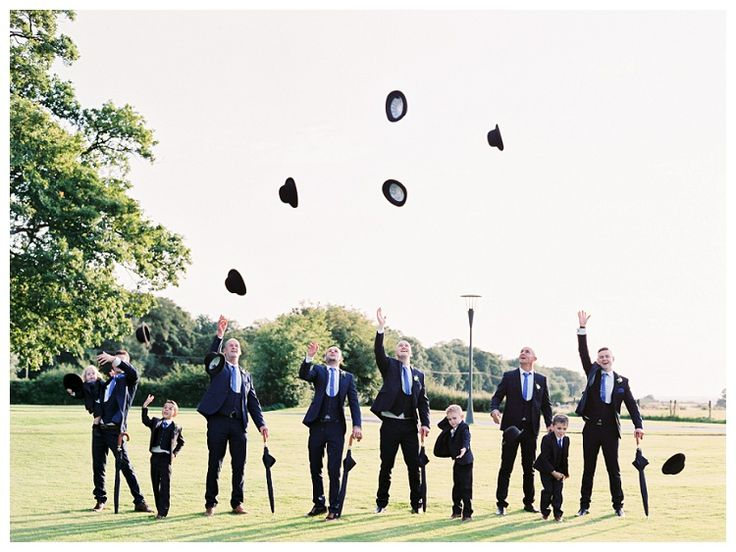 Dapper Groomsmen at Stanley House Hotel & Spa Blackburn Wedding | www.clare-robinson.co.uk