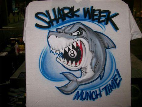 Pool Shark - Airbrush Tattoos - Island Tribal Designs