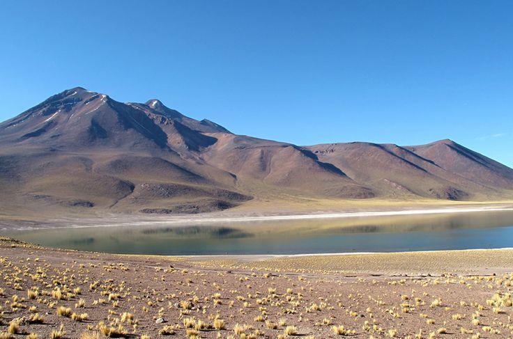 Laguna Meñique, no deserto do Atacama, norte do Chile