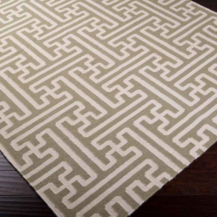 Grecian Maze Dhurrie Rug In 2019 Pieces For House