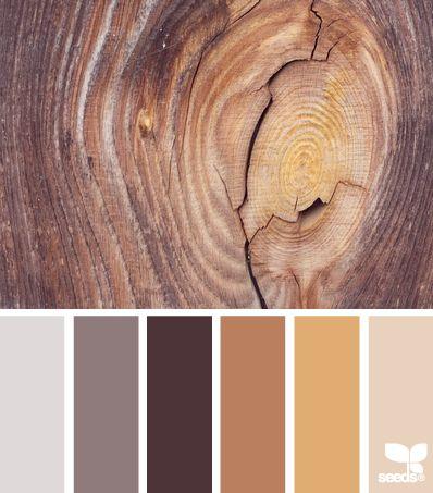 Combinación de tonos entre muebles, pintura, pisos... En general en toda la boutique