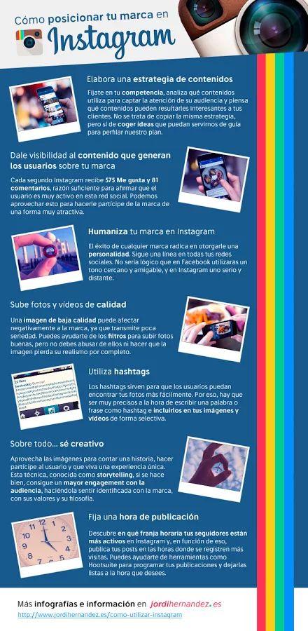 Foto: Cómo utilizar Instagram para posicionar tu marca