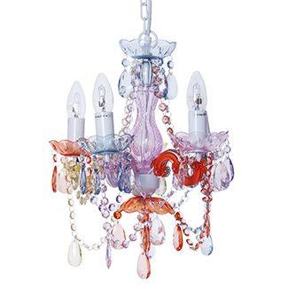 Pretty pastel chandelier <3