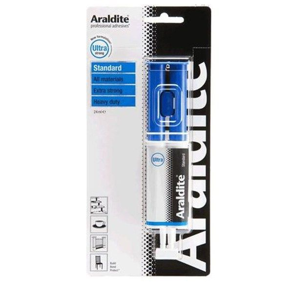 Araldite Standard Syringe All Purpose Epoxy Glue Blue Epoxy Glue Epoxy Syringe